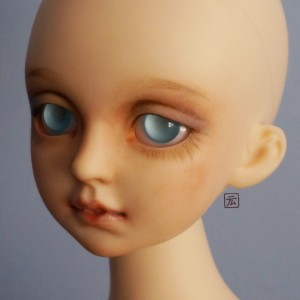 HeJin's faceup