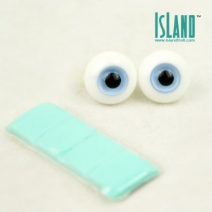gray blue eyes 16mm