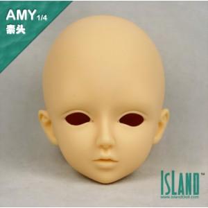 Amy's head 1/4